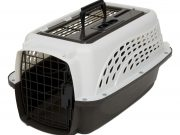 Petmate 2 Door Top Load kennel 48cm (<4,5kg) Wit/bruin