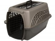 Petmate 2 Door Top Load Kennel 61cm (4,5-9kg) Parel/Bruin