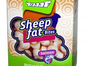 Braaaf Sheep fat Bites with Salmon