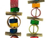 Birrdeeez Jungle Rings Parrot Toy