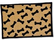 Dancing Bones Chenille Fashion Mat