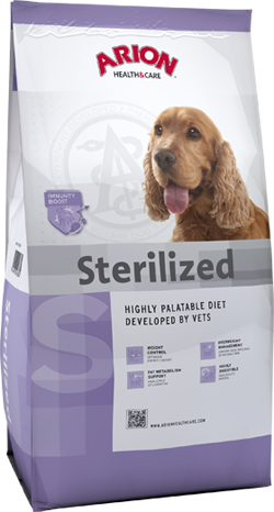 Arion Health & Care Sterilized 3 kg